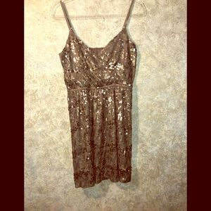 Express sequined SZ M date night dress.  Perfect!